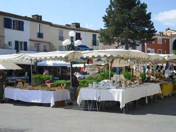 one of the many local markets. 20min walk
