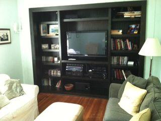 Media Room with a 6 zone house sound, and iPod dock, blueray DVD's and more.