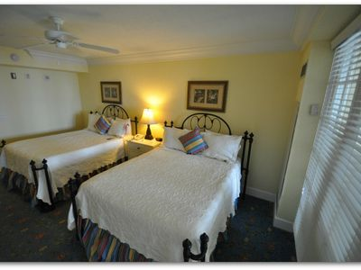 Relax in very comfortable Queen Size Beds after a day at the Beach.