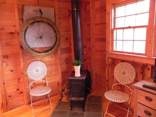 Kennebunkport cabin photo - Woodstove