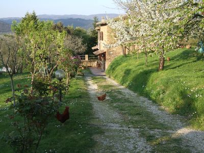 Family-friendly country house for holidays Podere La Vigna