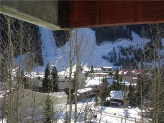 Taos Ski Valley condo photo - View towards base lift from 1st floor balcony