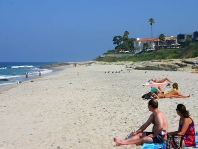 La Jolla townhome rental - beach down our street bonair wind n sea