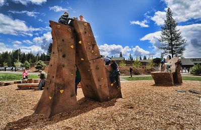 SHARC Outdoor Play Area & Rock Wall