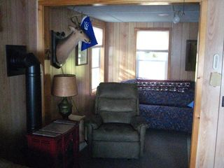 East Grand Lake cabin photo - den with futon