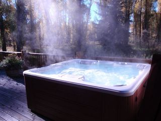 Hot Tub on Rear Deck