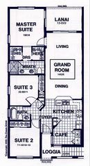 Naples condo photo - Floor Plan