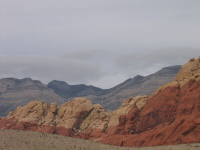 Beautiful Red Rock Canyon is less than a 30 minute drive from Desert Rose.