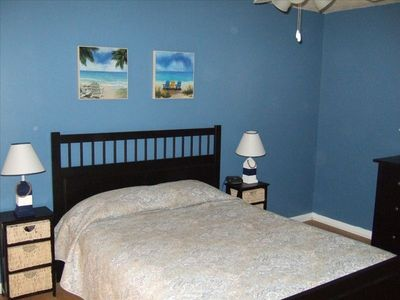 Great Master bedroom, guest bedroom has queen bed