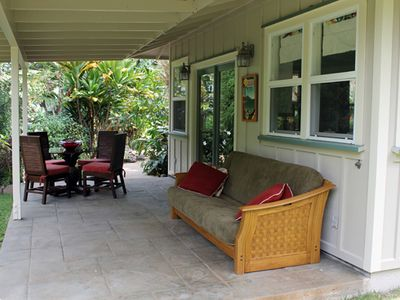 Iao Valley Private 2BR Cottage; Centrally Located; Mountains and Iao Stream!