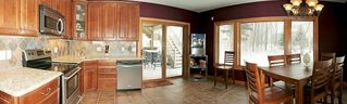Prior Lake house photo - Fully appinted, bright & luxurious kitchen! Heated Tile Floor! Wine Cooler!