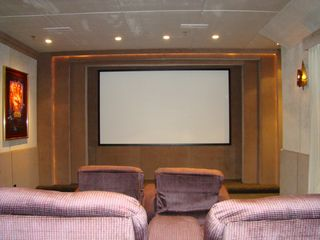 Sundance cabin photo - Home Theater. Blue Ray. Popcorn machine with popcorn. Mini Fridge. DVDs.