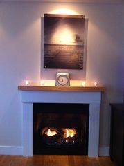 Provincetown condo photo - gas fireplace