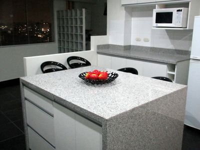 Miraflores condo rental - Even the kitchen has a beautiful view