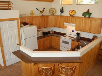 Fully Equipped Kitchen with Granite Counters Has Everything You Need!