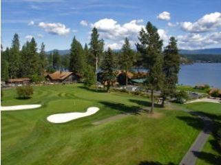 Golf Course at the Hayden Lake Country Club.