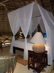 San Francisco villa photo - King bed in the Palapa suite (loft) in main house.