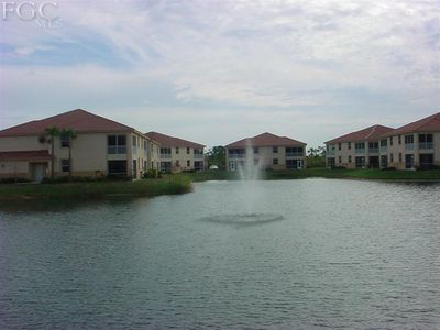 Lake view of complex