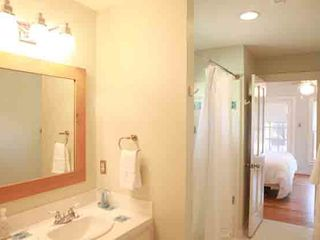 Austin house photo - Master bathroom with complimentary VERB Hair Care products and toiletries