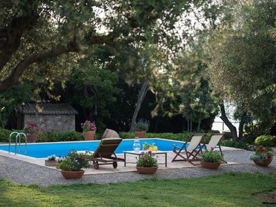 Villa Feia: Sea access, private  swimmingpool,  incredible view on the Ionian Se