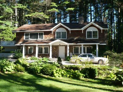 One Of The Finest Homes and Best Location In The Berkshires -Walk To Lake Beach