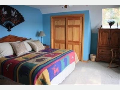 Bridgton house rental - Master bedroom