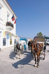 Spetses Island villa photo - True Spetses experience. A carriage ride to the house