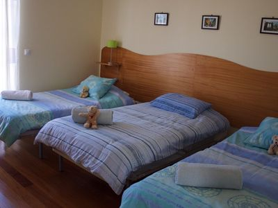 Extra bed in twin room for fifth person