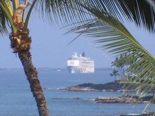 Kailua Kona condo photo - Watch surfers whales, sea turtles from living room