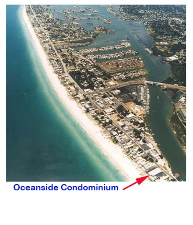 Oceanside is directly on the beach and intercoastal - unit faces Intercoastal