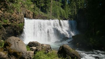 McCloud River Middle Falls.