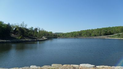 Fox Hollow Lake! Don't forget your poles for catch and release fishing!