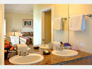 Key West condo photo - The Master Bathroom: twin vanities.