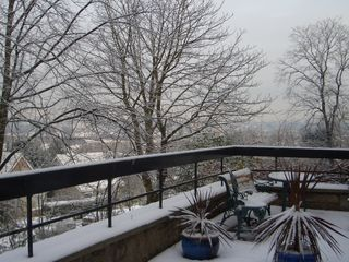 Glasgow & Clyde Valley apartment photo - The Terrace in Winter.