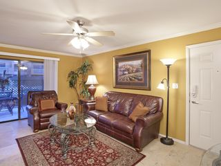 Old Town Scottsdale condo photo - Living Room with Plasma Screen TV, Recliner, and Sofa Bed