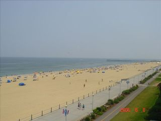 Virginia Beach condo photo - Looking South from Balcony
