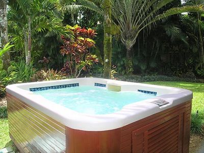 Hot Tub on Property