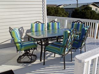 Virginia Beach house photo - Deck dining
