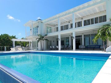 Fabulous large pool, which can be heated upon request.