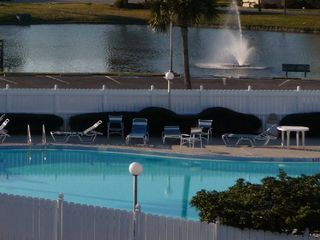 St. Augustine Beach condo photo - View from your balcony