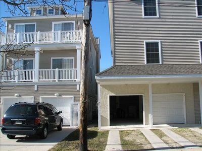 Two off st. parking spaces available. We also own the 3BR right next door.