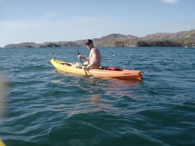 Playa Flamingo villa rental - The kayaks are waiting for you