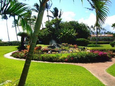 Kihei condo rental - Grounds