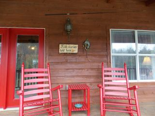 good fishing nearby - Muddy Pond cabin vacation rental photo