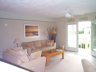 Brigantine townhome photo - Living room