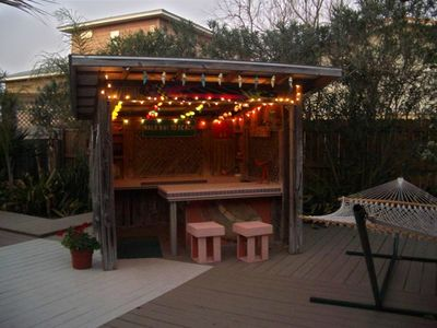 Tiki Bar and Hammock
