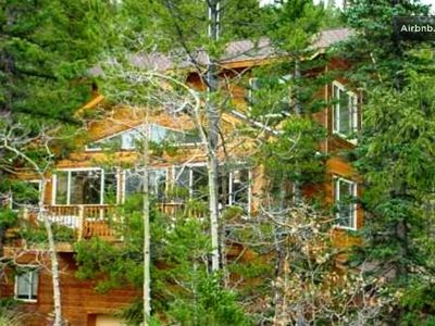 The Treehouse is a gorgeous custom home that is secluded with great views.