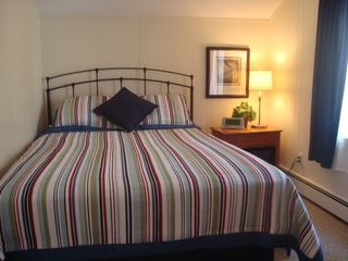 New Seabury condo photo - Master bedroom has a queen size bed.