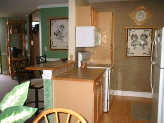 Fully equipped kitchen with newer appliances, cabinets, counters, floor, etc