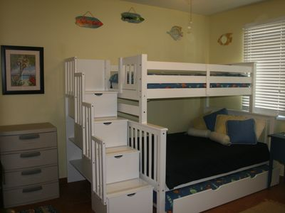 Second Bedroom Sleeps Four Comfortably